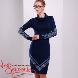 Embroidered Dress Slavena VSU-1149