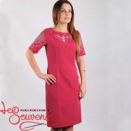 Embroidered Dress Oriana VSU-1155