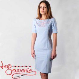 Embroidered Dress Mira VSU-1156
