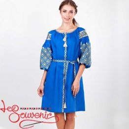 Embroidered Dress Luchezara VSU-1158