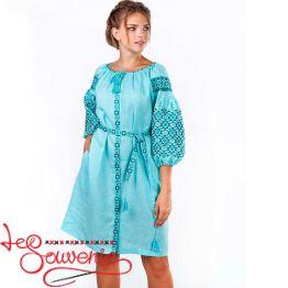 Вышитое платье Лучезара VSU-1159