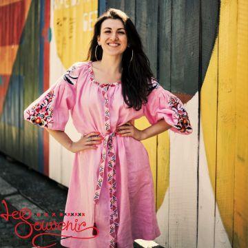 Embroidered dress Sona VSU-1161