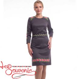 Embroidered Dress Melania VSU-1162