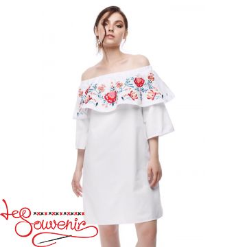 Embroidered Dress Dreamy white VSU-1163