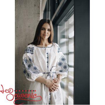 Вишита сукня Іванна біла VSU-1167