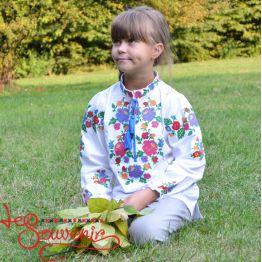 Вишиванка Веселкова Троянда DVS-1017