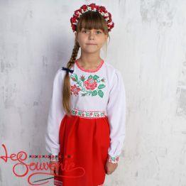 Embroidered Dress Roses VSS-1005
