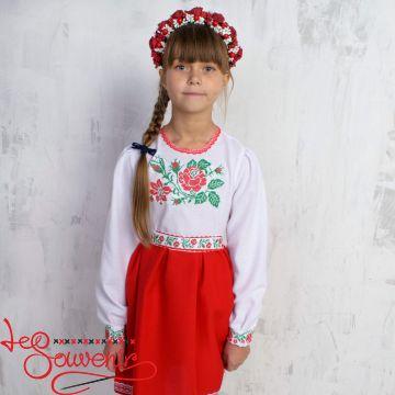 Вышитое платье Розочка VSS-1005 689e7ee120f9b