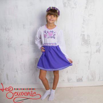 Вышитое платье Розочка VSS-1009