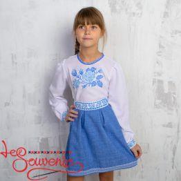 Вышитое платье Розочка VSS-1010