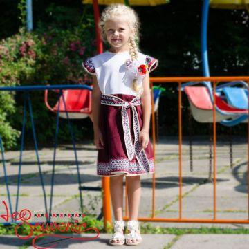 Платье тканое VSS-1011