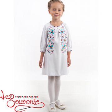 Вышитое платье Цветное VSS-1016