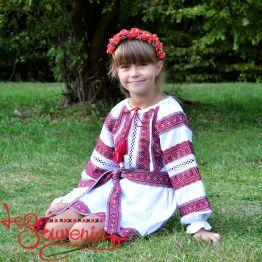 Сукня ткана рожева VSS-1019