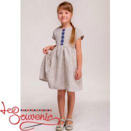 Платье вышитое VSS-1020