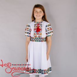 Embroidered Dress Slobozhanka VSS-1022