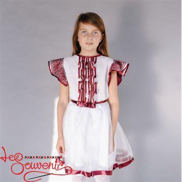 Вышитое платье Диана VSS-1024