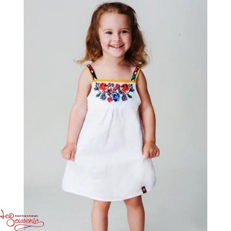 Вишита лляна сукня VSS-1025 e80546110b647
