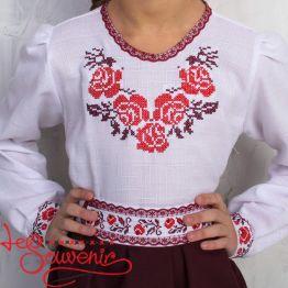 Вышитое платье Розочка VSS-1026