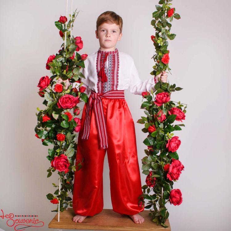 Шаровари червоні VHR-1001 dc8370d61667f