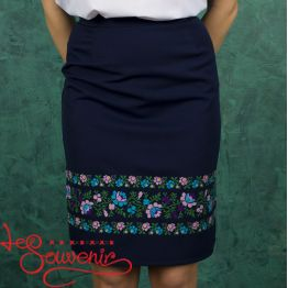 Сlassic Blue Skirt VSP-1007