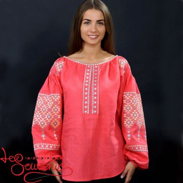 Embroidery Red Female Passion VS-1012