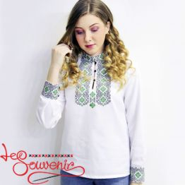 Embroidery Green Ornament VS-1091