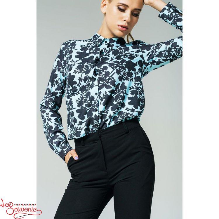 Блуза блакитна VS-1136 23001df9652a0