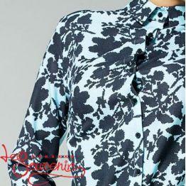 Блуза голубая VS-1136
