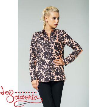 Блуза персиковая VS-1137