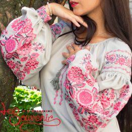 Вишиванка Рожевий цвіт VS-1208