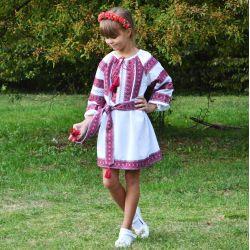 Вишиванка для дівчинки гуртом та в роздріб купити у Київ a86a76e0bb1ad